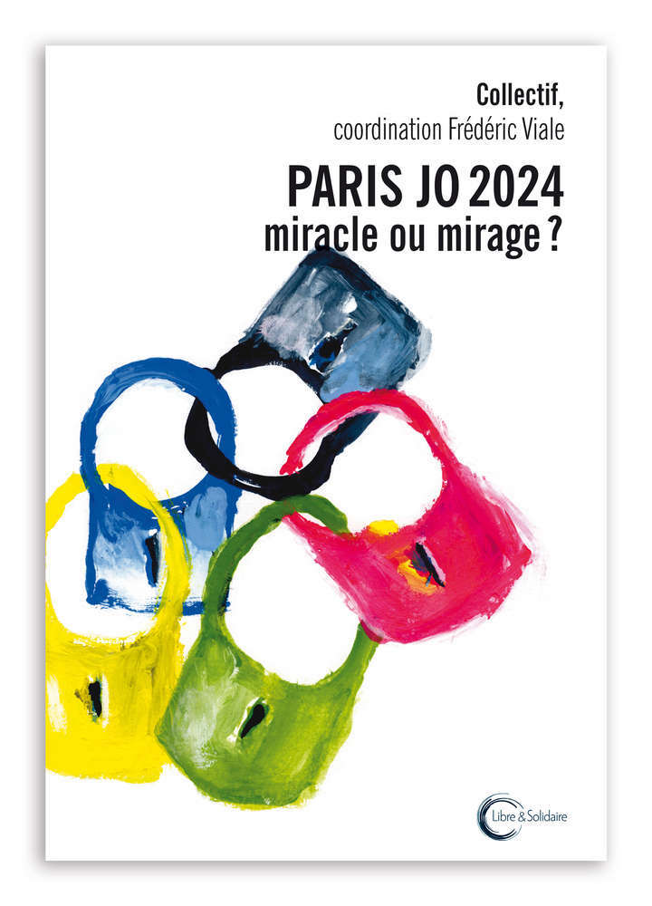 Olympicsart Non Paris JO 2024 book cover