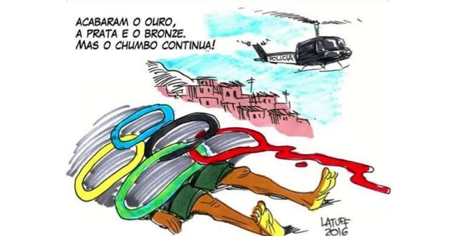 Rio 2016. Artist – Carlos Latuff