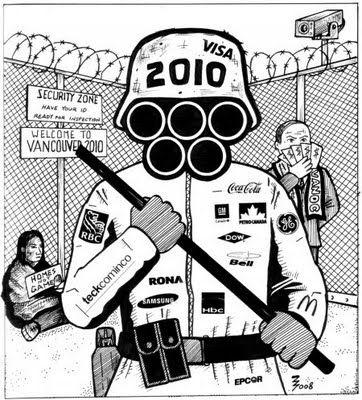 Vancouver 2010 riot cop. Artist – ZigZag